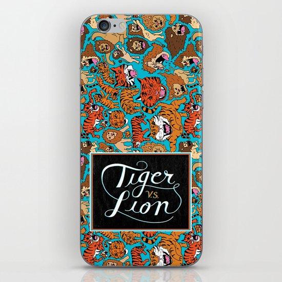 Tiger VS. Lion iPhone & iPod Skin
