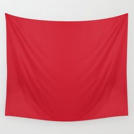 Flame Scarlet - Pantone Fashion Color Trend Spring/Summer 2020 NYFW Wall Tapestry