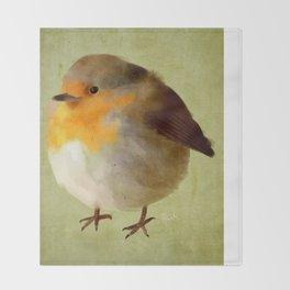 Chubby Bird Throw Blanket