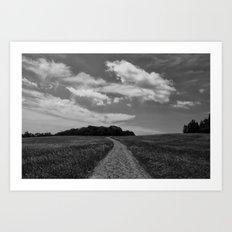 Path Less Traveled Art Print