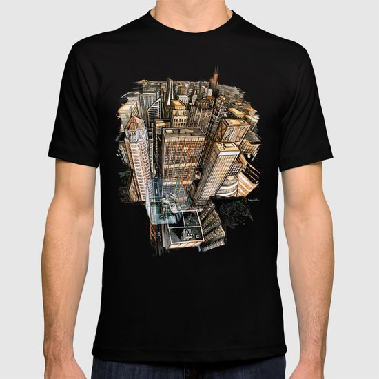 A cube with a view T-shirt