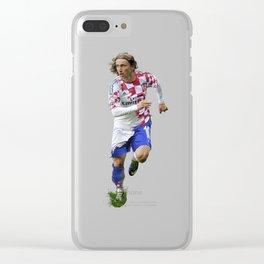 Luka Modric Clear iPhone Case