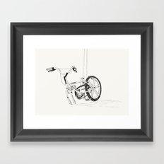 V. Come Back Framed Art Print