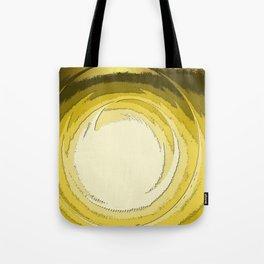 Vortex (gold) Tote Bag