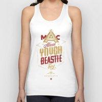 beastie boys Tank Tops featuring ∞ Adam Yauch • No way! I'm a Beastie Boy ∞ by Fabio Persico