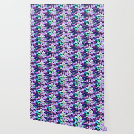 Amethyist Mermaid Skin Wallpaper