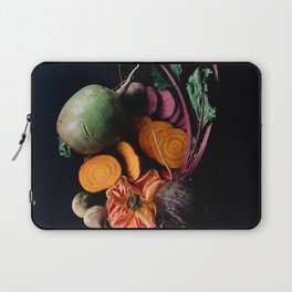 Moody Root Vegetables and Rose Laptop Sleeve