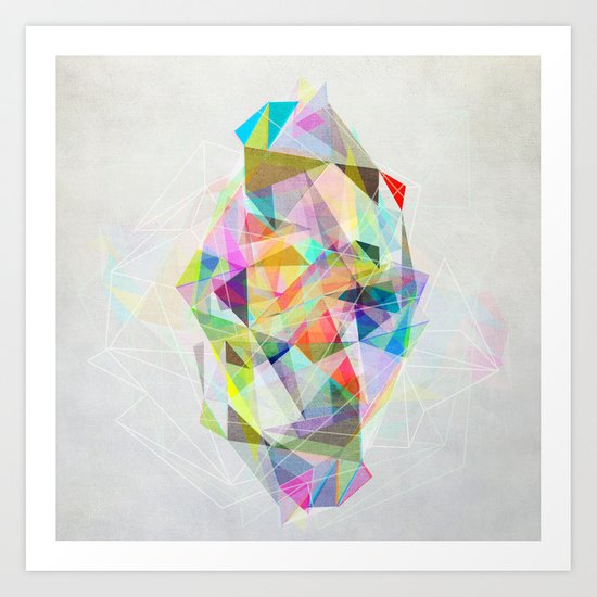 Graphic 119 Art Print