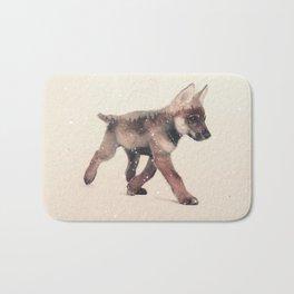 Little Ones: Wolf Bath Mat