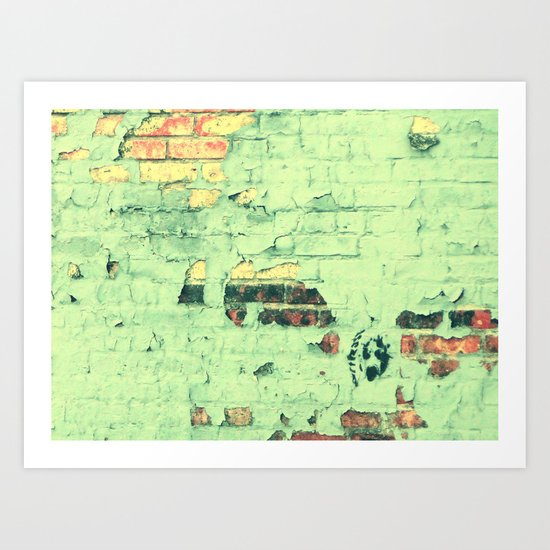 Like a ton of bricks Art Print