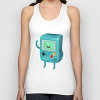 game of thrones Tank Tops featuring Game Beemo by Lime