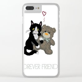 Forever Friends Clear iPhone Case
