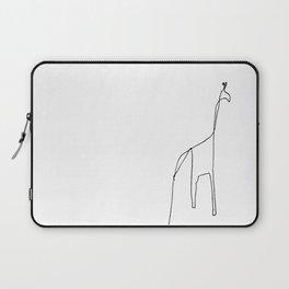 Line Giraffe Laptop Sleeve