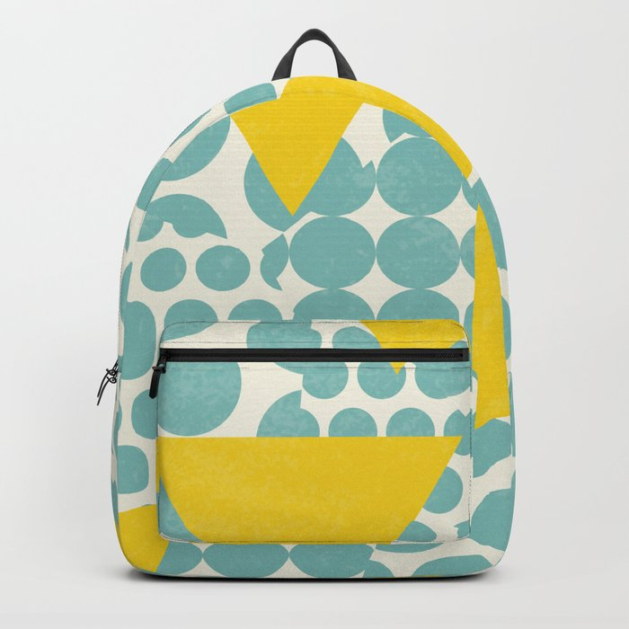 Dots and Triangles Backpack