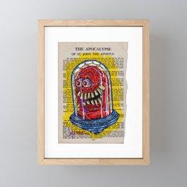 The Apocalypse of St. John UFO Framed Mini Art Print