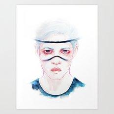 Cut Through Art Print