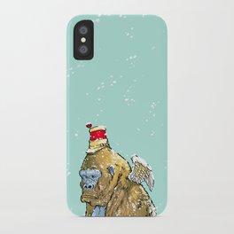 Winged Gorilla iPhone Case