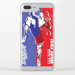 Muay thai lee sin gam Clear iPhone Case
