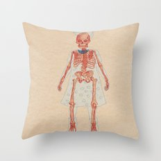 Bones. Questions series Throw Pillow