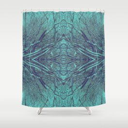 Breaking Through the Wall Shower Curtain