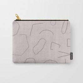 Skinny Shapes Lilac Carry-All Pouch