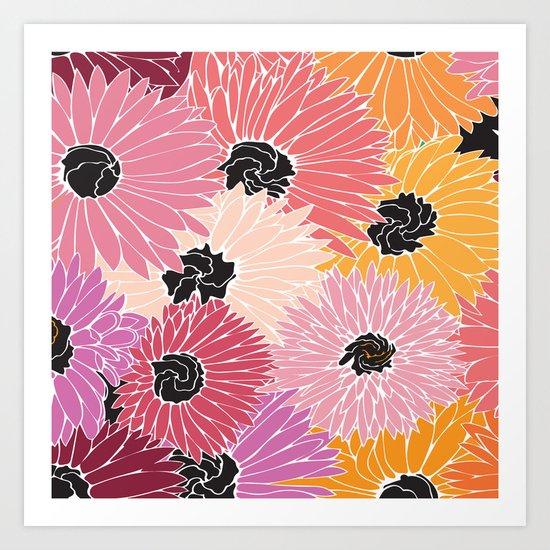 Summer Brunch Art Print