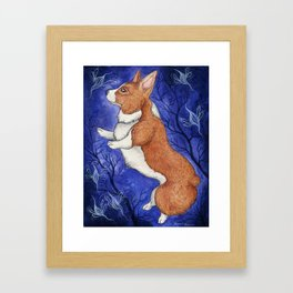 Dancing with the Faerie Framed Art Print