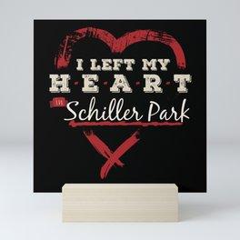 I Left My Heart In Schiller Park Pride Mini Art Print