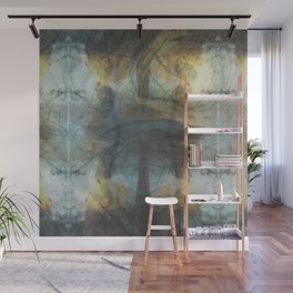 Abstract earth and water (texture) Wall Mural