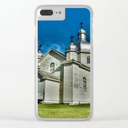 Country Church Clear iPhone Case