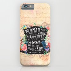 Mad Hatter iPhone 6s Slim Case