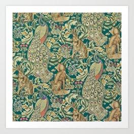 The Forest  William Morris Art Print