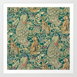 The Forest  William Morris Art Print