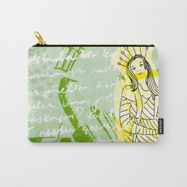 Unhappy Girl Carry-All Pouch