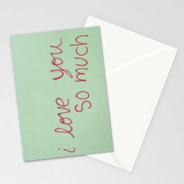 USA - AUSTIN - I Love You So Much Stationery Cards