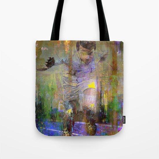 The runner Tote Bag