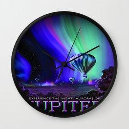 Vintage poster - Jupiter Wall Clock