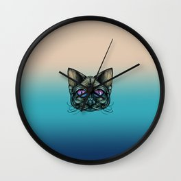 Zombie Cat Wall Clock