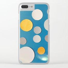 Sun Spots Clear iPhone Case