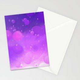 Lava Lamp Purple Stationery Cards