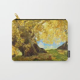 Sycamore in Autumn, Orange County Park Landscape by Edgar Alwin Payne Carry-All Pouch