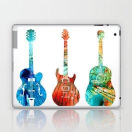 Abstract Guitars by Sharon Cummings Laptop & iPad Skin
