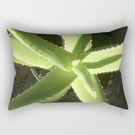 Aloe Plant Rectangular Pillow