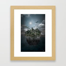 welcome to the castle Framed Art Print