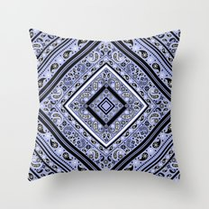 paisley box Throw Pillow