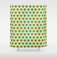 eggs Shower Curtains featuring Eggs by AZRI AHMAD