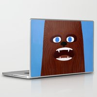 chewbacca Laptop & iPad Skins featuring Chewbacca by Jack Teagle