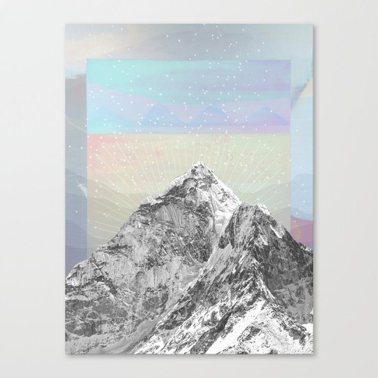 Mountain Sprites Canvas Print
