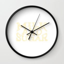 Lactose and glucose lover? Here's the perfect tee for you! Grab this simple yet awesome tee now!   Wall Clock
