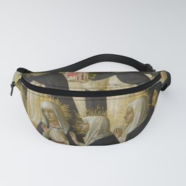 """Fra Angelico (Guido di Pietro) """"Fiesole Altarpiece - The Dominican Blessed"""" 1 Fanny Pack"""